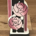 LIMITED EDITION LORNA BAILEY 'Charles Rennie Mackintosh' Vase - HIGHLY COLLECTABLE