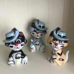 LORNA BAILEY 'The Three Pussketeers' - Highly Collectable